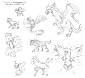 The results of the Pokemon live stream by hopeakorento
