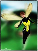 Wasp by tiangtam