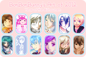 2012 Art Summary by Bon-Bon-Bunny