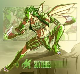 Nomadic Scyther [Auction: CLOSED] by LuckySquid