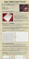 Simple Pencil Lineart Tutorial by heylorlass