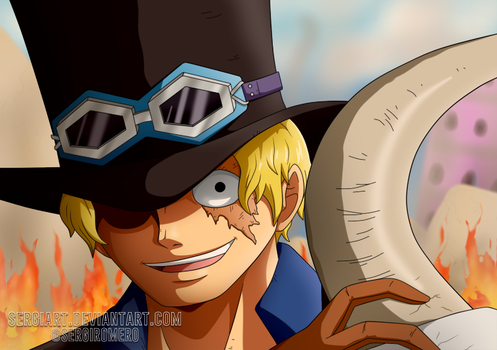 OnePiecectober, day 22: Sabo by SergiART
