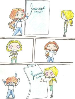 Liberty's Kids- For Love of Writing by Lunae-Ariae