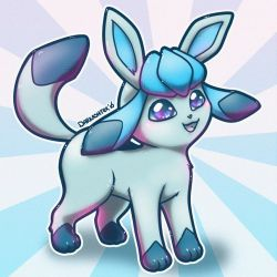 Glaceon Lance by Vanderstorme