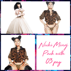 Nicki Minaj Pack PNG #19 by maarcopngs