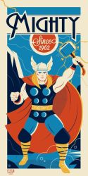 The Mighty Thor by Montygog