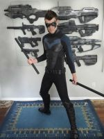 Epic Nightwing cosplay 80% done by CpCody