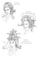 Hanbok, A Queen's Hair by Glimja