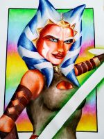 Ahsoka by spinekicksy