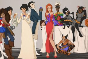 Another Halloween in Agrabah by scaragh