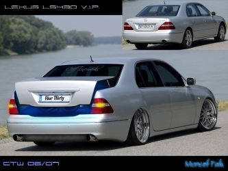 Lexus LS430 Rear View by MoncefFaik