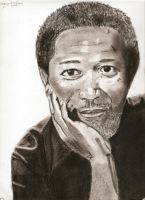 Morgan Freeman by whore-of-troy
