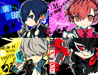 [PQ2]All Out Attack Protag.ver by Relxion-kun