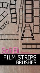 Film Strips Brushes by SofiiElii
