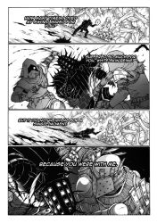 Thorn of hate - Dark Souls comic PAG 15 by thunderalchemist18