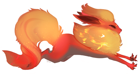 Flareon by mooncookie