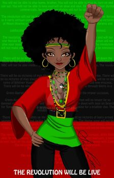 Black Power by Si-chan