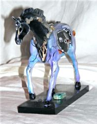 Crystal Magic Horse - front by RayvenOGiger