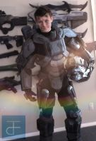 HALO 4 : Spartan Costume by CpCody