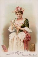 Victorian Advertising - Sweet Indulgence by Yesterdays-Paper