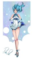 Sailor Neptune - New outfit Redesign by daadia