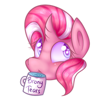 AshleyH 'Brony Tears' mug [Collab?] by SingeryAnne