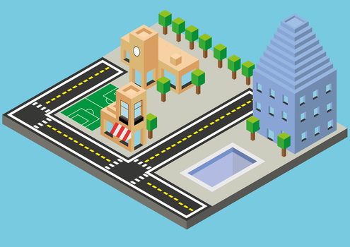 isometric city by oddkh1