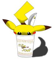 Pika Soup! Do you want one? :D by janno-arts