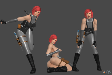 Regina from Dino Crisis REMAKE FULL by Marcelievsky