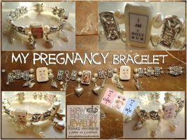 MY PREGNANCY blessed bracelet by NEWENERGYJEWELRY