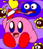 Kirby Have Heart Rods by cuddlesnam