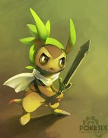 Chespin the knight