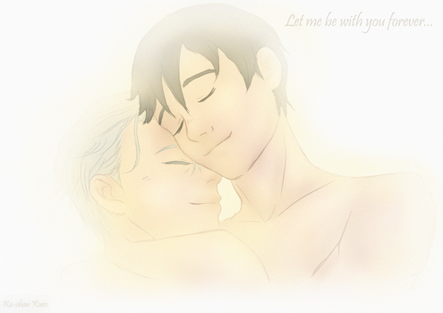 Victuuri - Let me be with you by KochanKuro