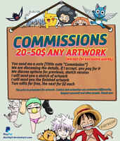 Commissions 2018 Open by Davidyf