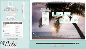 Leve Blue by MeliCreations