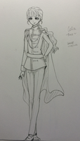 OOC: Celia as a Prince in her school act by CeriaJ