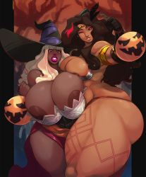 Halloween Succubus by Carmessi