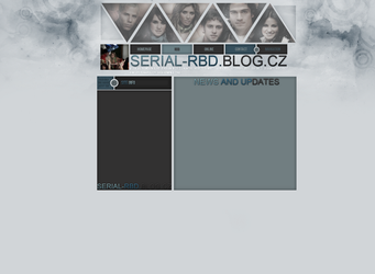 Layout for serial-rbd.blog.cz by FlowerskaHoneyLand