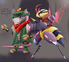 Bess and Sivir - TheAkanemnon's Contest Entry by Kitty101ck