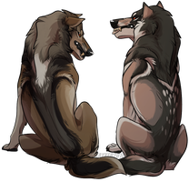 Sketchy Duo - SOLD by Kayxer