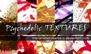 Psychedelic Texture pack by mariaromerobarbero
