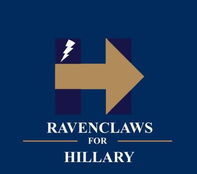 Ravenclaws for Hillary (Bronze Arrow)! by HawkEagleWolf