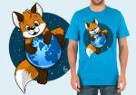 Cute firefox T-shirt by pandapaco