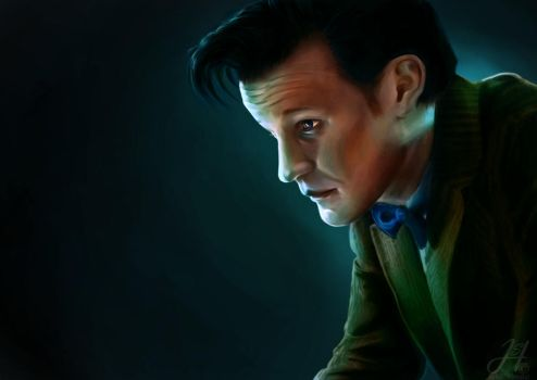 -11th Doctor- by Arkarti