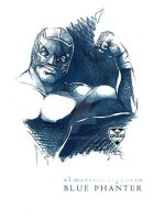 Blue Panther by ataud
