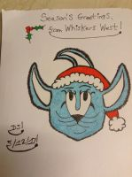 Season's Greetings from Whiskers West by DazzyADeviant