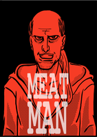Meat Man - Cover by LarryKingUndead