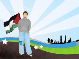 free palestine by moslemperson