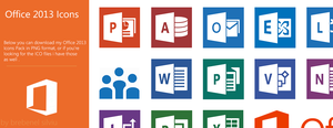 Office 2013 - Icons Pack by Brebenel-Silviu