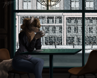 Morning hours by WolFirry